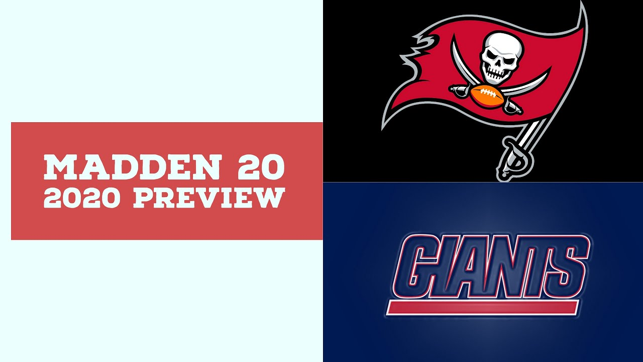 2020 Week 8 Preview - Tampa Bay Buccaneers vs New York Giants - Simulation Nation