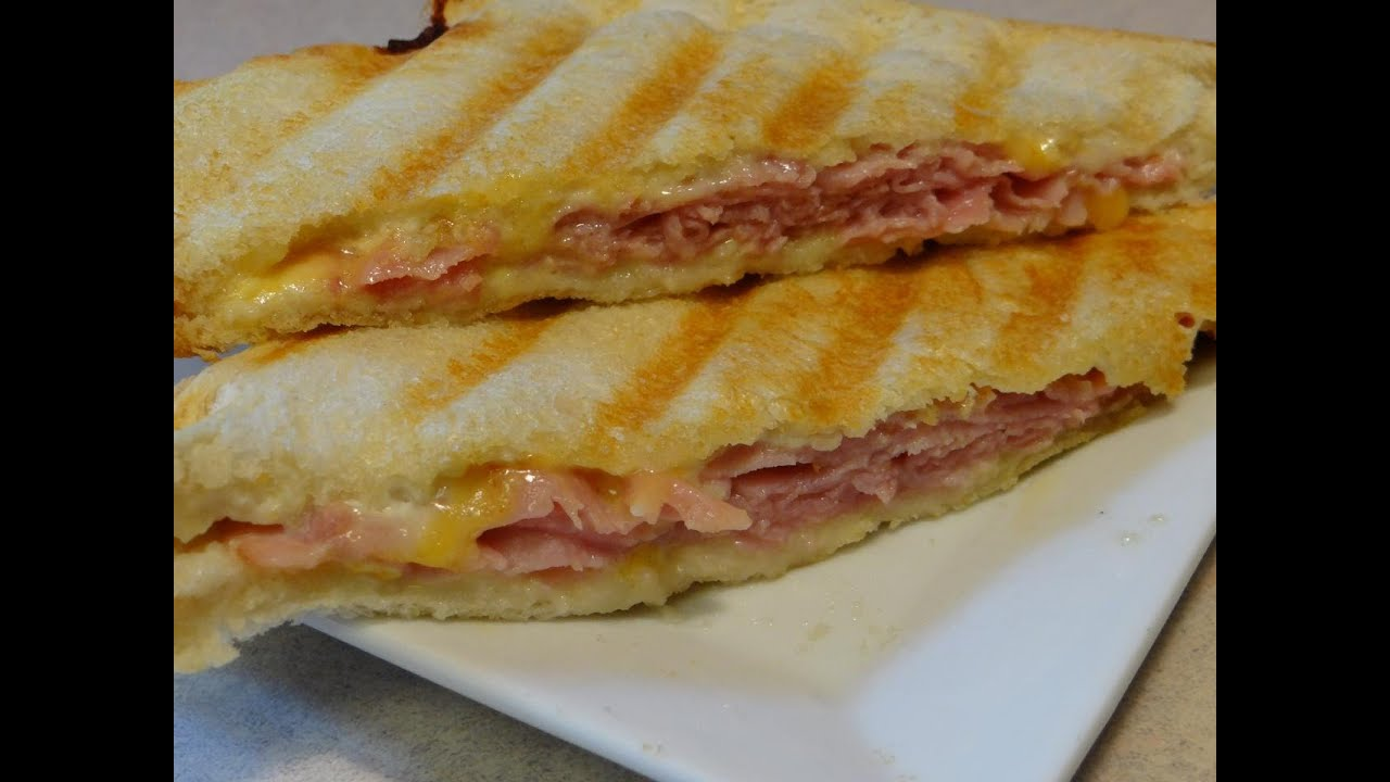 Ham and Cheese Panini - CookingAndCrafting's Way ...