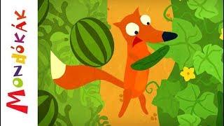 Kiskertemben uborka | Gyerekdalok és mondókák, rajzfilm gyerekeknek