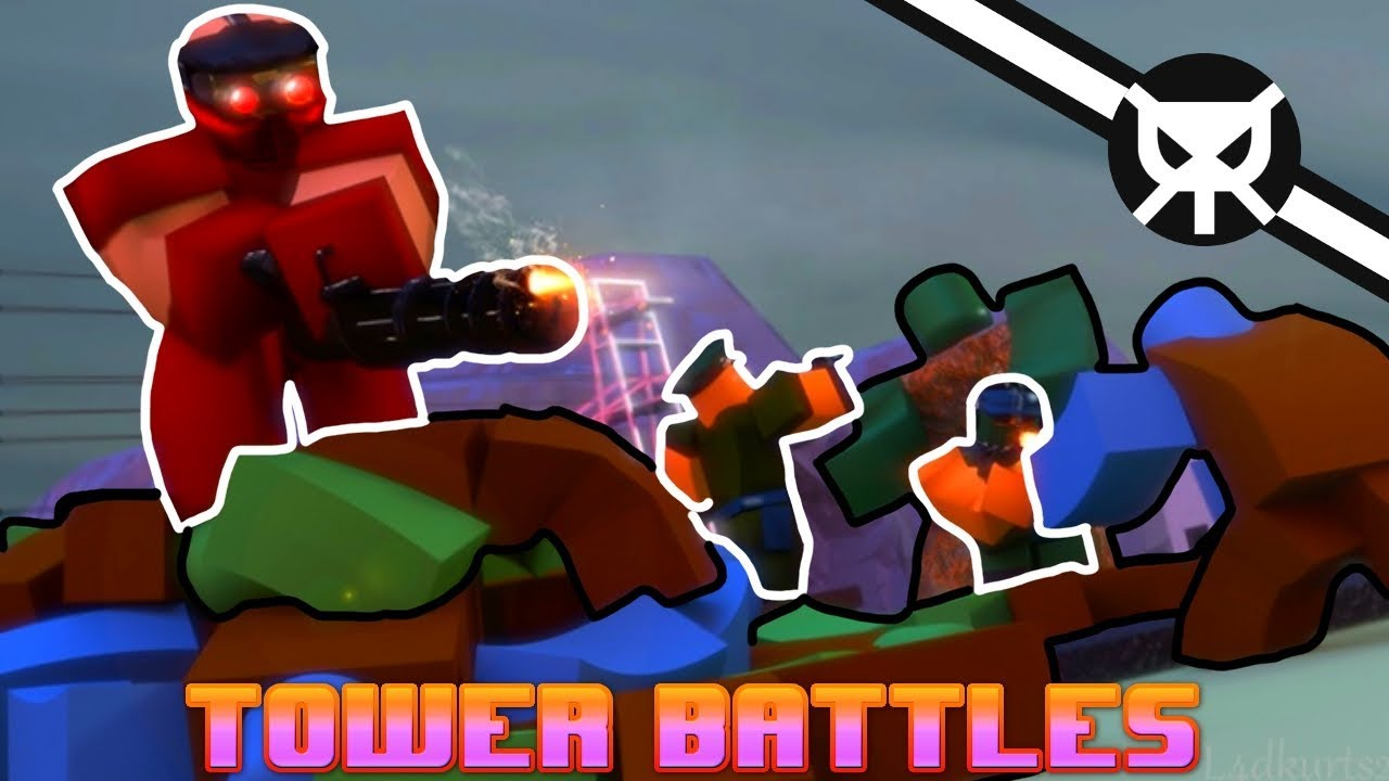 THE BEST TOWER DEFENSE GAME? ▼ Tower Battles ROBLOX ▼ Part 1