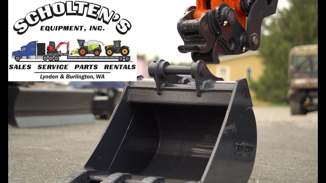 NEW Pin Grabber Attachment on Kubota Excavator
