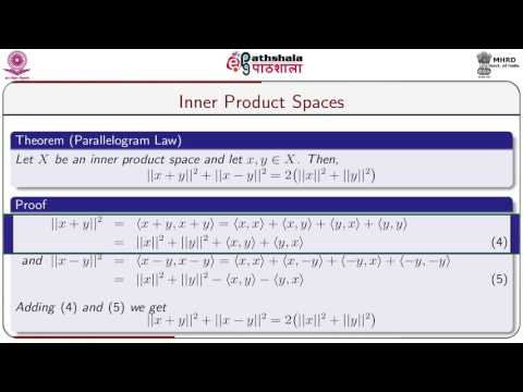 Inner product spaces.(MATH)