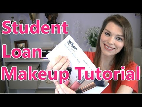 Student Loan Makeup Tutorial (The Merlot Down 1)