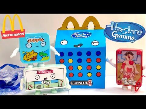 McDonald's Hasbro Gaming Happy Meal Toys January 2021