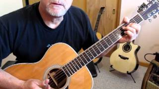 The Man with the Green Thumb by Tommy Emmanuel - Tutorial by Ed Harp