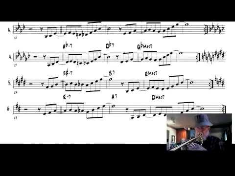 A special trick to expand jazz vocabulary