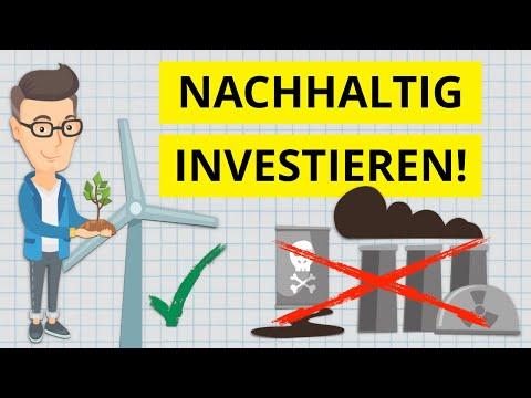 Nachhaltig Investieren - sogar mehr Rendite? inkl. ETF-Portfolio