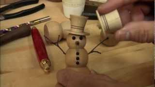 Holiday Turnings By Tim Yoder (woodturning Dvd Preview)