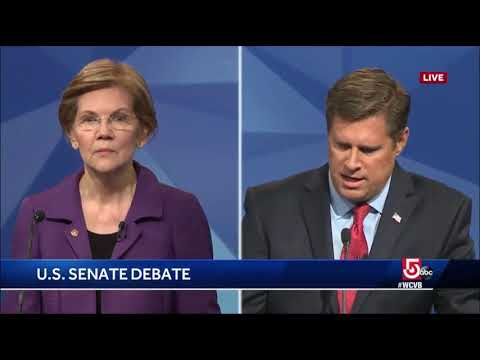 Warren Caught Off Guard When Opponent Brings Up Ethics Complaint on Her Fundraising