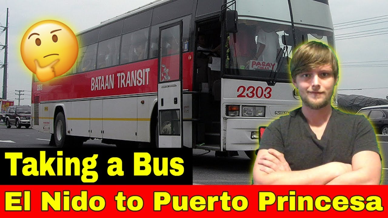 Taking A Bus From El Nido To Puerto Princesa Palawan Philippines Music Video