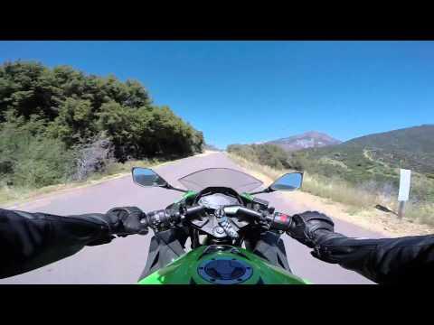 Ride through Kings Canyon