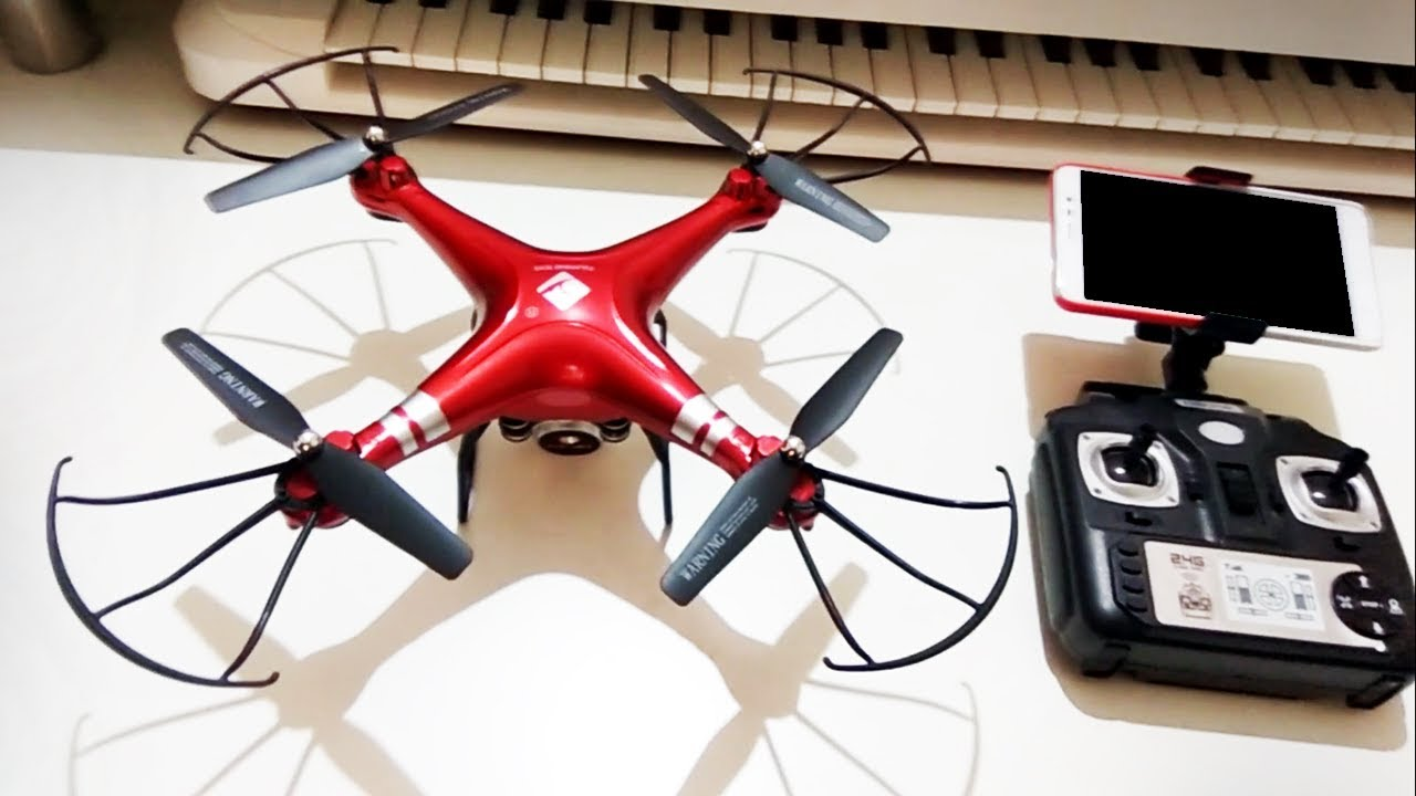 X52HD RC Drone RTF Unboxing & Flight [ Limited Edition ] 2018