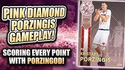 62b2bb334 NBA 2K18 PINK DIAMOND KRISTAPS PORZINGIS GAMEPLAY! BEST CARD IN NBA 2K18  MYTEAM - Duration  10 19.