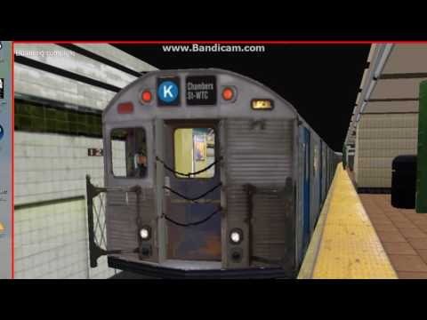 R32 On the (K) Eighth Ave Line