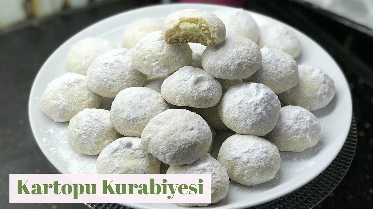 Cevizli Kartopu Kurabiye Tarifi