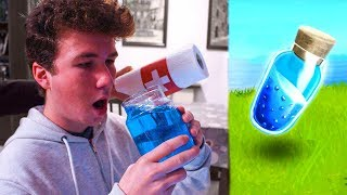 FORTNITE OBJECTS IN REAL LIFE! (Items from Fortnite Real!)