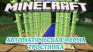 Minecraft 1.11. КАК СДЕЛАТЬ ФЕРМУ ТРОСТНИКА В МАЙНКРАФТЕ? Выживание #28