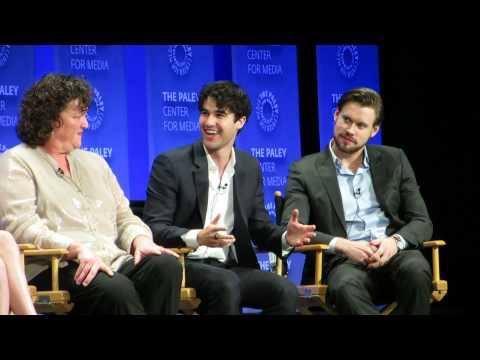 PaleyFest2015 Glee Panel--Darren Criss on shooting