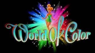 * World of Color- full soundtrack part 1