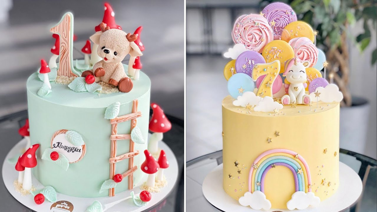 Top 20 Creative Colorful Cake Decorating Ideas | Delicious Cake Recipes At Home