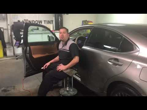 Behind the Scenes: Expert Window Tinting Available at Lexus of Las Vegas
