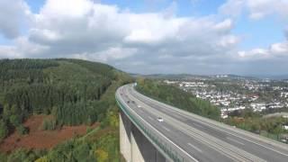 Autobahnbruecke A45 bei Siegen