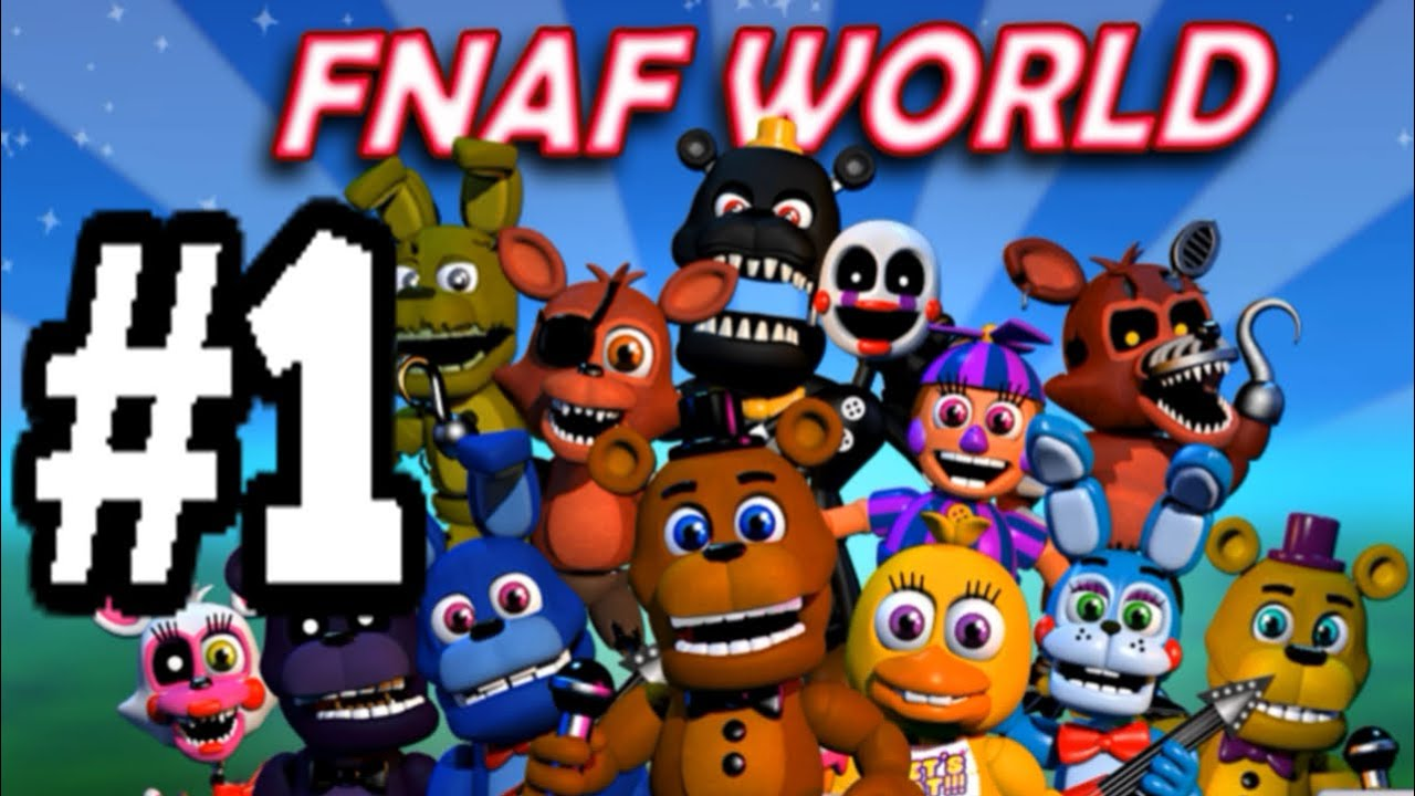 five nights at freddy's world game   Gameswalls org