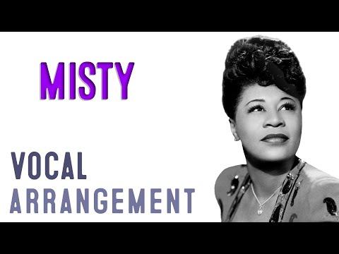 Misty - Arrangement by Carlos Eduardo da Costa - A cappella Choir - Choral  - Jazz