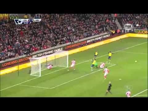 Gol & Highlights Premier League Stoke City vs Arsenal 3-2 Giornata 15