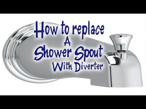 Replacing Shower Spout With Diverter