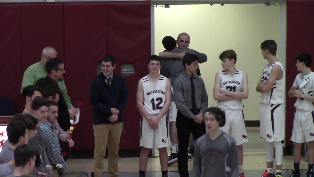 NCCS Boys Basketball Senior Night  2-5-20