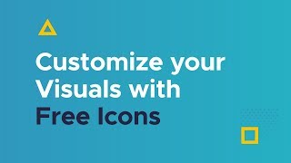Customize your Visuals with Free Icons