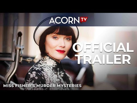 Acorn TV Exclusive | Miss Fisher's Murder Mysteries | Official Trailer