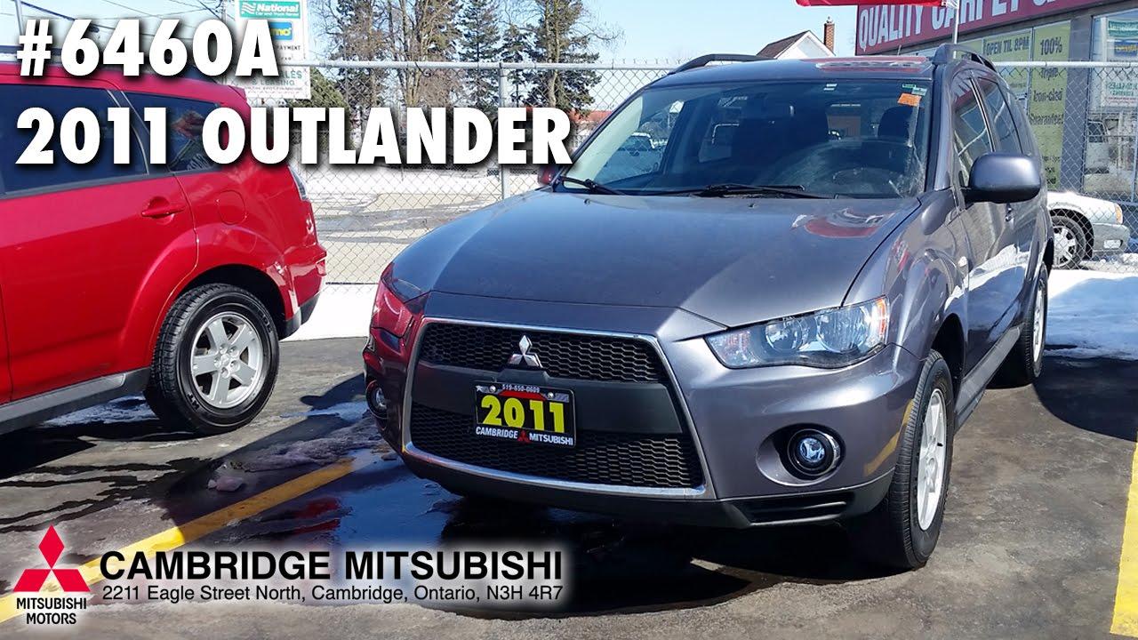 USED Mitsubishi Outlander A Cambridge Mitsubishi - Mitsubishi cambridge