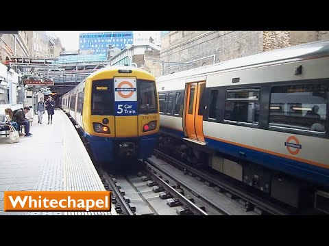 London Overground: Whitechapel | East London Line (British Rail Class 378)
