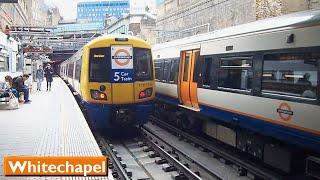 London Overground: Whitechapel | East London Line (British Rail Class 378)