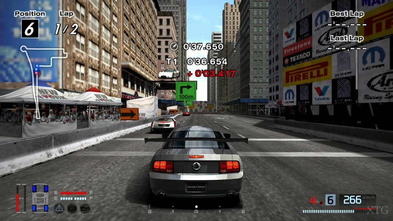 Ford Mustang GT '05 (HYBRiD) PS2