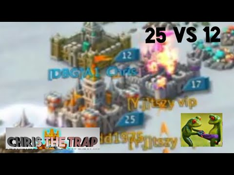 Baby Trap VS Castle Lvl 25 ~ Lords Mobile Trap