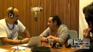 Omar Mollo con Pablo Marchetti /