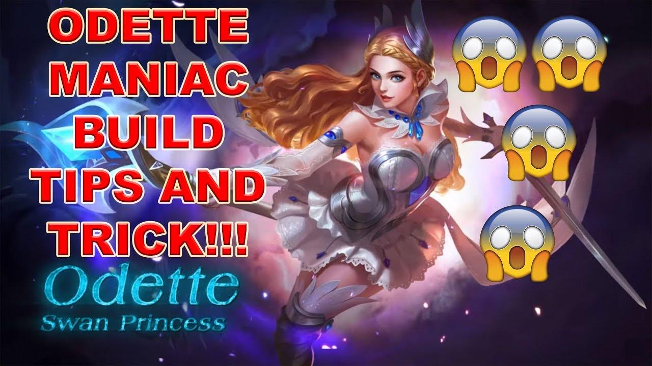 Odette Maniac Build Tips And Trick Mobile Legend Bang