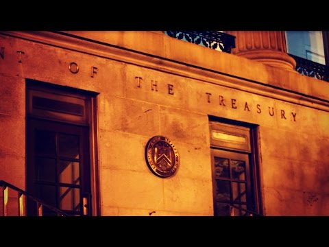 A Fun Jaunt to the U.S. Treasury Department in Washington D.C.