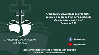 IPBJ | Culto Vespertino: Mc 11:27-33  | 12/07/2020