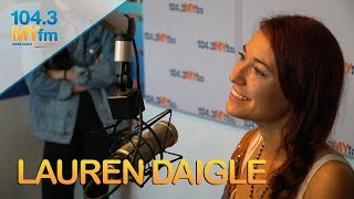 Lauren Daigle On Defying Labels, Connecting With Fans, Grey's Anatomy, Adrenaline & More Video