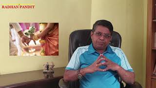 Kalathara Dosam 2 or 3 Marriages in Tamil
