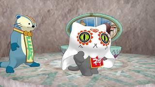 アニメ「おにゃんこポン」#03「勉強なんかしたくないだニャ」 thumbnail