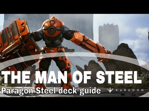 [THE MAN OF STEEL HIMSELF] Steel deck guide and full game play commentary walkthrough!