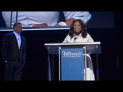 Oprah Winfrey Disney Legends acceptance speech during D23 Expo 2017