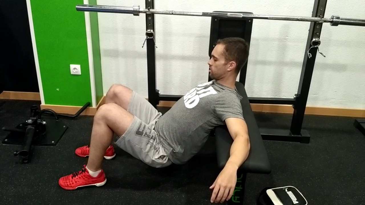 How To Barbell Hip Thrust - YouTube