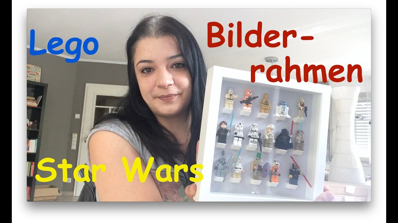Star Wars Lego Bilderrahmen Ikea - YouTube