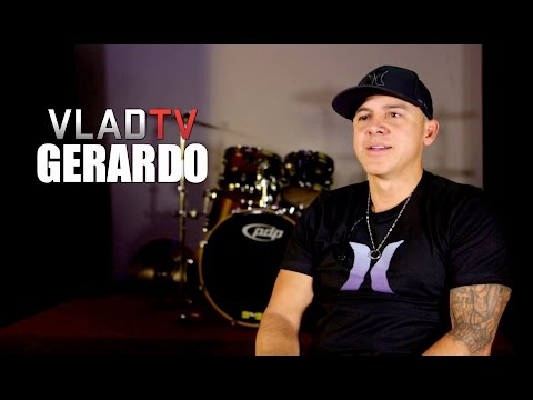"Gerardo Reacts to Kanye West's ""Rico Suave"" Line on 'All Day'"